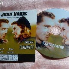 Cine: DVD- JUAN NADIE (GARY COOPER - BARBARA STANWYCK ) - VER FOTOS. Lote 195429557