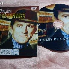 Cine: DVD-LA LEY DE LA FUERZA (KIRK DOUGLAS ) - VER FOTOS. Lote 195429697