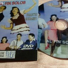 Cine: DVD - AL FIN SOLOS (FRED ASTAIRE - PAULETTE GODDAR ) - VER FOTOS. Lote 195429805