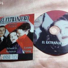 Cine: DVD -EL EXTRANJERO (ORSON WELLES - LORETTA YOUNG ) - VER FOTOS. Lote 195429873