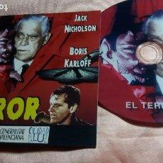 Cine: DVD -EL TERROR (JACK NICHOLSON - BORIS KARLOFF ) - VER FOTOS. Lote 195429987