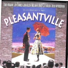 Cine: DVD PLEASANTVILLE - TOBEY MAGUIRE, JEFF DANIELS, JOAN ALLEN, WILLIAM H.MACY.... Lote 195430708