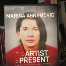 Cine: DVD VIDEO MARINA ABRAMOVIC THE ARTIST IS PRESENT ESPAÑOL DOCUMENTAL LIBRO VHS PELICULA BLU RAY ULAY . Lote 195431773