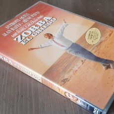 Cine: ZORBA EL GRIEGO ANTHONY QUINN MICHAEL CACOYANNIS THE GREEK DVD K. Lote 195437018