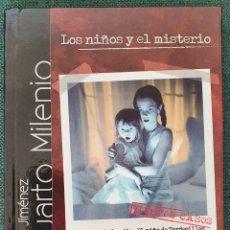 Cine: LOS NIÑOS Y EL MISTERIO. CUARTO MILENIO. DVD Y LIBRO. Lote 195443642