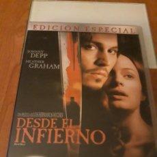 Cine: DESDE EL INFIERNO. 2 DVD. Lote 195444232
