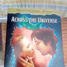 Cine: A CROS THE UNIVERSE-2DVD.S CANCIONES THE BEATLES. Lote 195449231