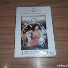 Cine: POR FIN ES VIERNES DVD DONNA SUMMER JEFF GOLDBLUM NUEVA PRECINTADA. Lote 195453253
