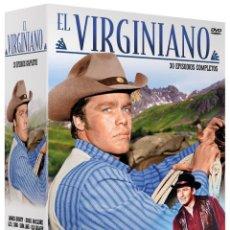 Cine: PACK EL VIRGINIANO 15 DVD 2.190 MIN. NUEVA PRECINTADA. Lote 195453278