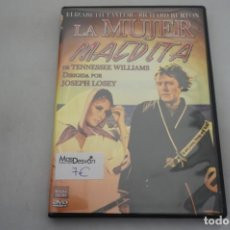 Cine: (5-B4) - 1 X DVD / LA MUJER MALDITA - ELIZABETH TAYLOR, RICHARD BURTON / JOSEPH LOSEY. Lote 195453380