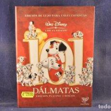 Cine: 101 DÁLMATAS - EDICIÓN LUJO - 2 DVD + CUENTO ILUSTRADO . Lote 195453387