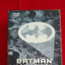Cine: DVD PACK COLECCIÓN BATMAN - VUELVE - FOREVER - ROBIN - TIM BURTON. Lote 195466067