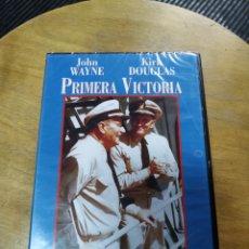 Cine: PRIMERA VICTORIA (JOHN WAYNE, KIRK DOUGLAS) ES NUEVA Y PRECINTADA. Lote 195466245