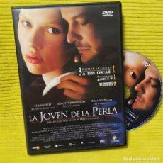 Cine: DVD LA JOVEN DE LA PERLA,.DE PETER WEBBER, CON SCARLETT JOHANSON,2003,COMO NUEVA, SIN USO (NM_NM). Lote 195466336