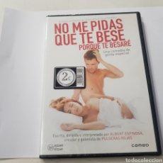 Cine: (B54) NO ME PIDAS QUE TE BESE ‐ DVD NUEVO PRECINTADO. Lote 195466817