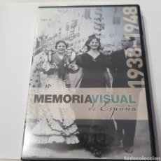 Cine: (S367) MEMORIA VISUAL DE ESPAÑA 1938 1948‐DVD SEGUNDA MANO. Lote 195472011