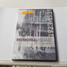 Cine: (S367) MEMORIA VISUAL DE ESPAÑA 1923 1930-31‐DVD SEGUNDA MANO. Lote 195472085