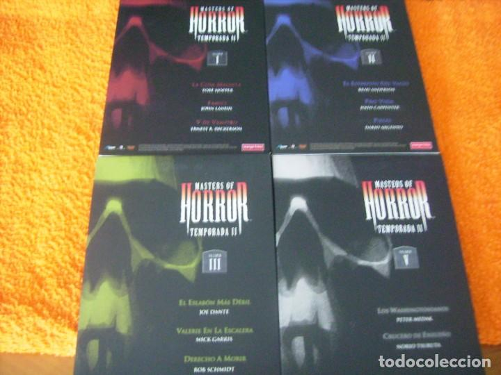 MASTERS OF HORROR / TEMPORADAS 1 - 2 - 3 - 5 (Cine - Películas - DVD)