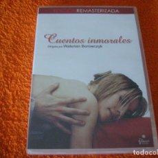 Cine: CUENTOS INMORALES / WALERIAN BOROWCZYK / DESCATALOGADA DVD. Lote 195480881