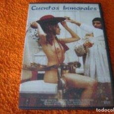 Cine: CUENTOS INMORALES / WALERIAN BOROWCZYK / DESCATALOGADA DVD. Lote 195481171
