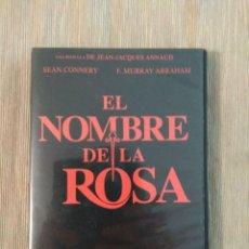 Cine: ENVIO CERTIFICADO INCLUIDO // DVD EL NOMBRE DE LA ROSA. EDICION COLECCIONISTA 2 DISCOS. Lote 195481555