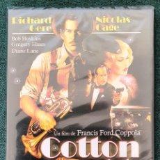 Cine: COTTON CLUB. RICHARD GERE. NICOLAS CAGE. DVD. PRECINTADO. Lote 195482757