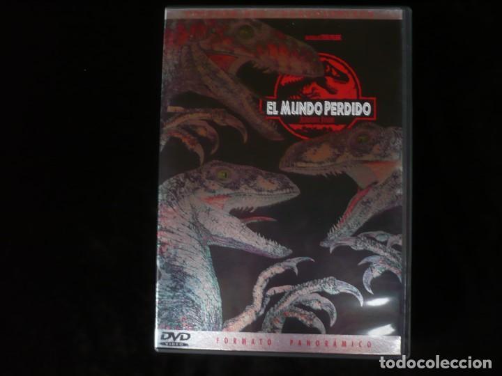 EL MUNDO PERDIDO JURASSIC PARK - EDICION COLECCIONISTA - DVD COMO NUEVO (Cine - Películas - DVD)