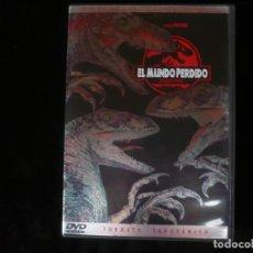 Cine: EL MUNDO PERDIDO JURASSIC PARK - EDICION COLECCIONISTA - DVD COMO NUEVO. Lote 195515143
