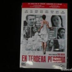 Cine: EN TERCERA PERSONA - DVD COMO NUEVO. Lote 195515163