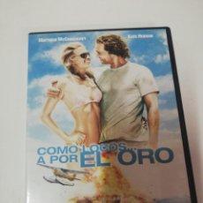 Cine: COMO LOCOS A POR EL ORO DVD. Lote 195517563