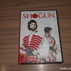 Cine: SHOGUN ED. ESP. COMPLETA DVD 2.104 MIN. JAMES CLAVELL'S RICHARD CHAMBERLAIN NUEVA PRECINTADA. Lote 195517883