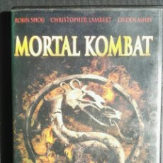 Cine: MORTAL KOMBAT DVD. Lote 195521232
