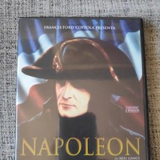 Cine: NAPOLEON DE ABEL GANCE DVD EDICION 2 DISCOS. Lote 195528312