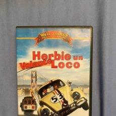 Cine: HERBIE UN VOLANTE LOCO DVD DESCATALOGADO. Lote 195530500
