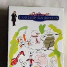 Cine: LOTE DE 8 PELÍCULAS DVD. UN PAÍS DE CUENTOS HANS CHRISTIAN ANDERSEN. Lote 195530501