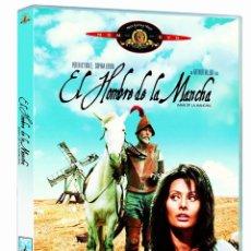 Cine: EL HOMBRE DE LA MANCHA - DVD *** NUEVO Y PRECINTADO *** EDICION ESPAÑOLA ***. Lote 195539231