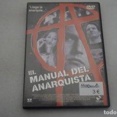 Cine: (6-B1) - 1 X DVD / EL MANUAL DEL ANARQUISTA / JORDAN SUSMAN. Lote 195539582