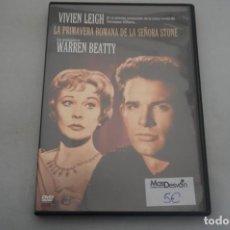 Cine: (6-B1) - 1 X DVD / LA PRIMAVERA ROMANA DE LA SEÑORA STONE - VIVIEN LEIGH, WARREN BEATTY. Lote 195539647