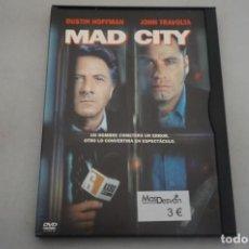 Cine: (6-B1) - 1 X DVD / MAD CITY - DUSTIN HOFFMAN, JOHN TRAVOLTA. Lote 195539692