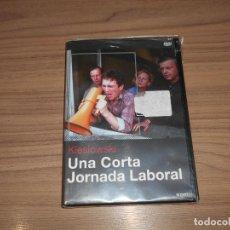 Cinema: UNA CORTA JORNADA LABORAL DVD KIESLOWSKI NUEVA PRECINTADA. Lote 269471228