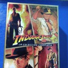 Cine: INDIANA JONES LA COLECCIÓN COMPLETA EN DVD. Lote 195787770