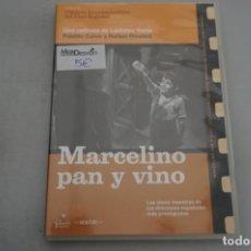 Cinéma: (6-B3) - 1 X DVD / MARCELINO PAN Y VINO - PABLITO CALVO / LADISLAO VAJDA. Lote 195820191