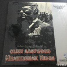 Cine: CLINT EASTWOOD - HEARTBREAK RIDGE . LÁSER DISC . Lote 195876710