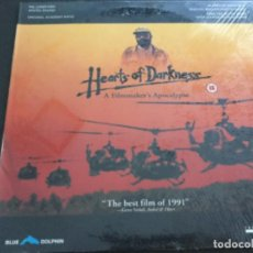 Cine: HEARTS OF DARKNESS . APOCALYPSE NOW .LASER DISC. Lote 195877970