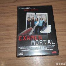Cine: EXAMEN MORTAL DVD TERROR NUEVA PRECINTADA. Lote 207202967