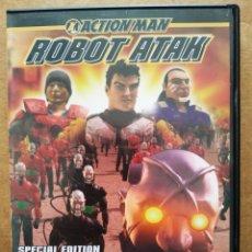 Cine: DVD ACTION MAN: ROBOT ATAK SPECIAL EDITION (HASBRO, 2004). 45 MINUTOS. LARGOMETRAJE EN ANIMACIÓN 3D.. Lote 196593937