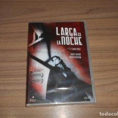 Cine: LARGA ES LA NOCHE DVD JAMES MASON NUEVA PRECINTADA. Lote 207202938