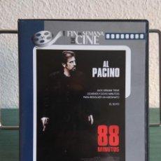 Cine: 88 MINUTOS EN DVD // PROMOCIÓN EN LOS ENVÍOS. LEER DESCRIPCIÓN. Lote 196782032