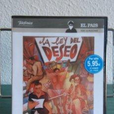 Cine: LA LEY DEL DESEO EN DVD // PROMOCIÓN EN LOS ENVÍOS. LEER DESCRIPCIÓN. Lote 196843032