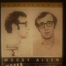 Cine: TOMA EL DINERO Y CORRE - WOODY ALLEN **PRECINTADA. Lote 196818460